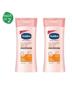 Vaseline Sun and Pollution Protection Lotion SPF 30 (100 ml x 2)