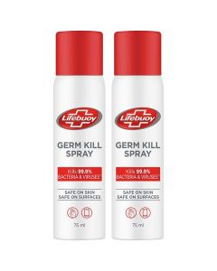 Lifebuoy Germ Kill Spray (75 ml x 2)