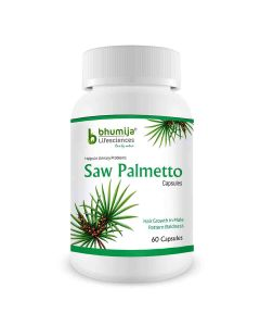 Saw Palmetto With Nettle Root Capsules - Bhumija Lifesciences