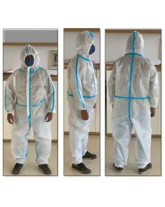 Disposable Coveralls With Shoe Covers (Heat Sealed) - Micon Impex