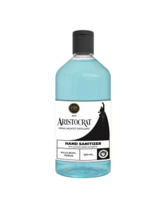 Instant Hand Sanitizer with 80% Alcohol (500 ml) Liquid based - Aristocrat