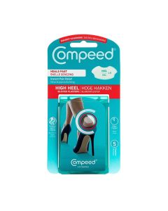 High Heels Blister Plasters For Instant Pain Relief (5 Plasters) - Compeed