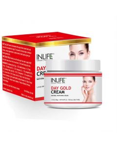 Day Gold Face Cream (50 gm) - Inlife
