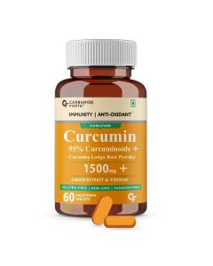Curcumin + Ginger Extract + Piperine - Carbamide Forte