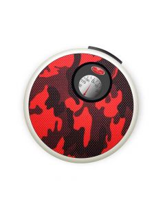 Round Manual Weighing Scale with Carry Handle (Red) - Easycare