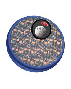 Round Manual Weighing Scale with Carry Handle (Blue) - Easycare