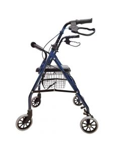 Foldable Rollator with Tool Free Installation - EasyCare