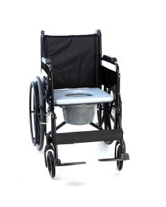 Foldable Commode Wheelchair (SWC-PC-109) - iCare