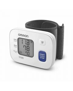 Automatic Wrist Blood Pressure Monitor (HEM-6161) - Omron