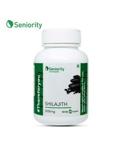 Shilajit Pure Extract 500 mg (60 Capsules) - Seniority
