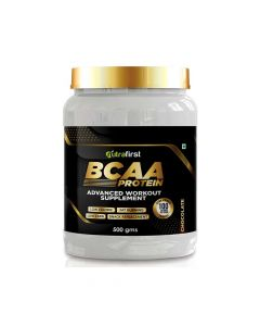 BCAA Workout Proteins with Chocolate Flavored  (500 gm) - Nutrafirst