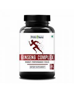 Ginseng Complex Supplement (60 Capsules) - Simply Nutra