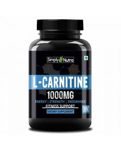 L- Carnitine Supplement (65 Tablets) - Simply Nutra