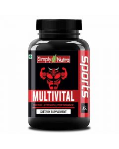 Multivital Dietary Supplement (90 Tablets) - Simply Nutra