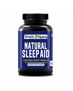 Natural Sleep Aid Dietary Supplement (120 Tablets) - Simply Nutra