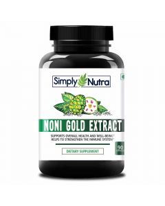 Noni Gold Extract Supplement (90 Capsules) - Simply Nutra