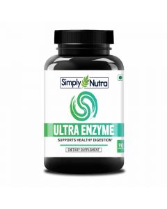 Ultra Enzyme For Healthy Digestion (90 Tablets) - Simply Nutra