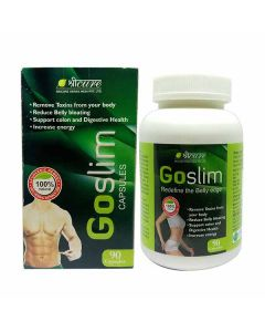 Go Slim Capsules For Weight Loss (90 Capsules) - Sricure