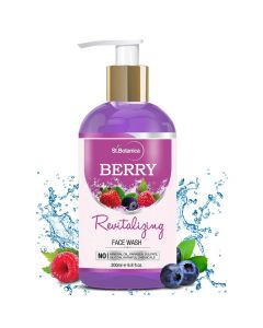 Berry Revitalizing Face Wash with Raspberry Strawberry Juniper Berry 200 ml - St Botanica