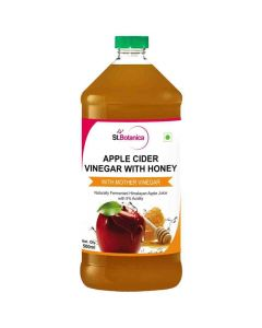 Apple Cider Vinegar With Mother Vinegar and Honey (500 ml) - St Botanica