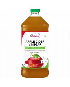 Natural Apple Cider Vinegar Natural with Mother Vinegar (500 ml) - St Botanica