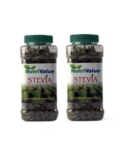 Stevia Dry Leaves (2 x 50 gm) - Nutrivalue