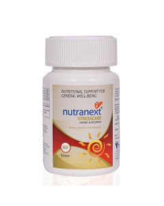 StressCare Dietary Supplement (60 Tablets) - Nutranext