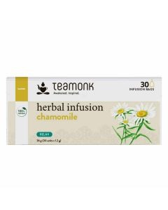 Chamomile Herbal Infusion (30 Tea Bags) - Teamonk