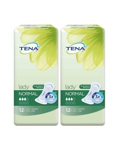 TENA Lady Normal - Bladder Control Pads (Pack of 2)