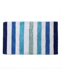 Cotton Stripes Bathmat (40 x 60 cm) - The Home Talk
