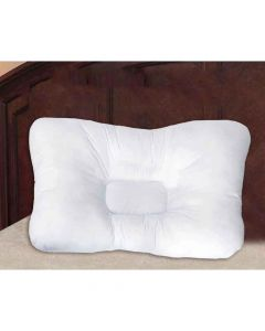 Cotton Neck Support Pillow With Zipper Bag - The Home Talk