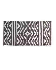 Printed Cotton Floor Rug (50 x 100 cm) - The Home Talk