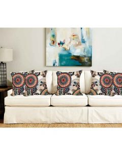 Digital Printed Cushion Cover - Floral Design (Pack of 5) - The Home Talk