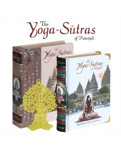 The Yoga-Sutras Of Patanjali Wooden Edition (A6 size) - Vedic Cosmos