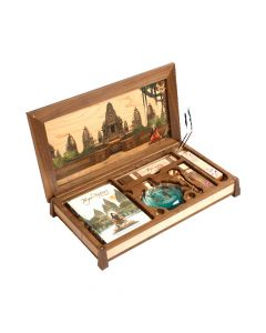 The Yoga-Sutras of Patanjali Wooden Altar Kit - Vedic Cosmos