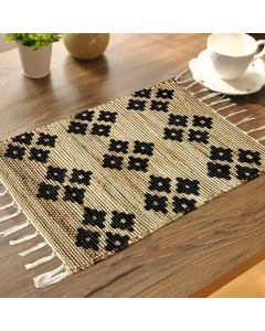 Printed Jute Placemats (Plain Jute Back) Design 1 - The Home Talk