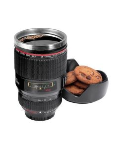 Camera Shaped Coffee Mug with Lid
