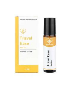 Travel Ease Motion Sickness Relieving Roll-On (9 ml) - Herb Tantra