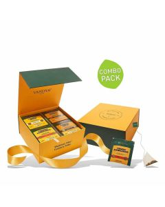 Turmeric Wellness Detox Tea Pack (4 Teas - 60 Bags x 2 gm each) - Vahdam Teas