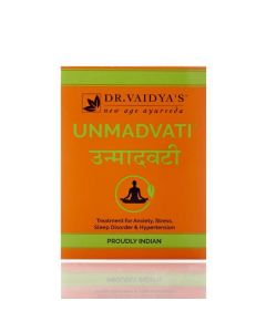 Unmadvati - Ayurvedic Pills for Anxiety Stress and Sleep Disorder - Dr. Vaidyas