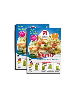 Upma with Heater Bag - Veg (2 x 250 gm) - Move On