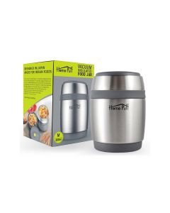 Double Wall Vacuum Insulated Stainless Steel Food Jar - Home Puff
