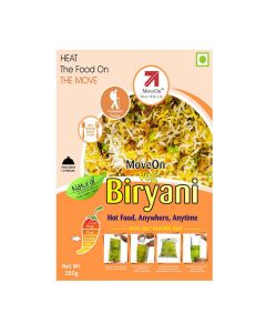 Vegetable Biryani with Heater Bag - Veg (250 gm) - Move On