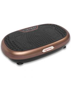 Vibration Massage and Exercise Plate LLM234 (Brown) - Lifelong