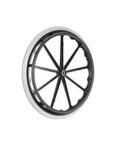 Wheel Chair Big Wheel With Moulded Mag Tyre  Bearings - Vissco