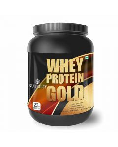 Whey Protein Gold Muscle Gainer (1 kg) - CRD Ayurveda