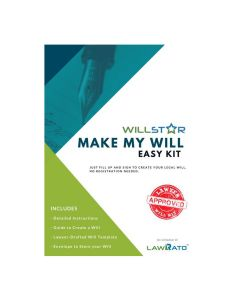 WillStar Make My Will Easy Kit - LawRato
