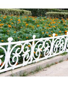 Garden Square Design Fence - Wonderland