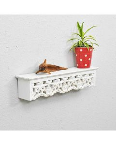 Wooden Hanging Wall Bracket - Woodenclave