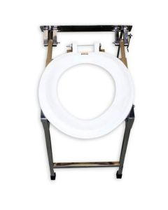 Wall-mounted Indian Conversion Commode S S - Pedder Johnson